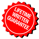 Lifetime Written Guarantee